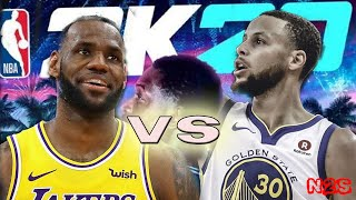 Golden State Warriors vs Los Angeles Lakers - FULL GAME | NBA 2K20