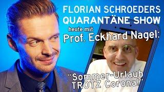 Die Corona-Quatrantäne-Show vom 22.04.2020 mit Florian Schroeder und Prof. Eckhard Nagel