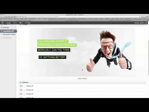 Avada Layer Slider Setup