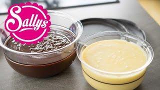 Schokoladen-Ganache Grundrezept - Herstellung, Verwendung, Aufbewahrung / Cake Basics