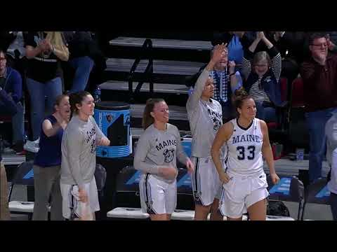 Highlights from Maine vs Hartford America East Championship