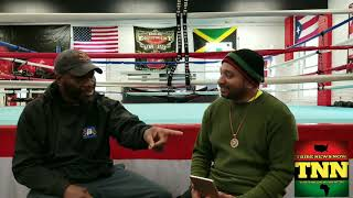 Tribe News Now: Pt- 2 Prof. heavyweight boxer Solomon Maye