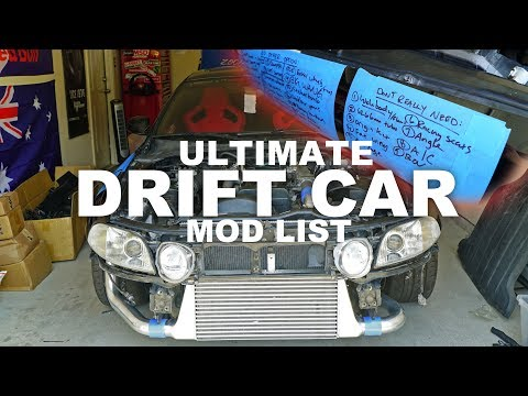 the ULTIMATE Drift Car to-do list