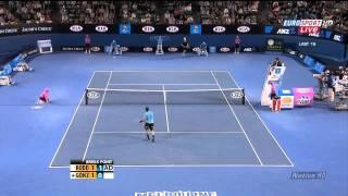 Gonzalez vs Roddick super shots HD