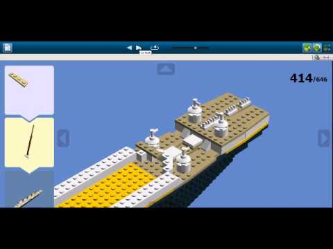 Rms Titanic Lego Digital Designer Youtube