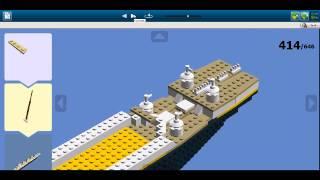 R.M.S.  Titanic Lego digital Designer