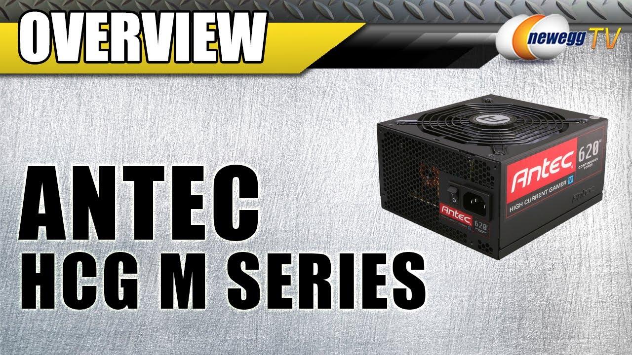 Antec HCG M Series HCG-620M 620W ATX12V / EPS12V SLI Ready CrossFire Ready  80 PLUS BRONZE Certified Modular Active PFC Power Supply - Intel Haswell