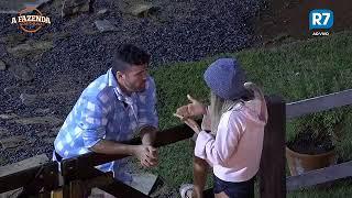 A FAZENDA: 04/11/17 🔥Flávia cobra que Marcelo defenda ela | R7 A Fazenda Nova Chance