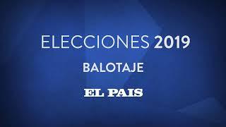 Elecciones Uruguay - Balotaje EL PAÍS