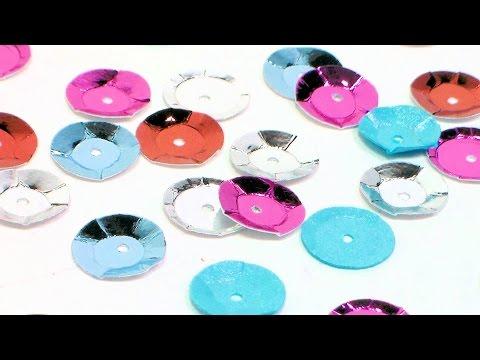 DIY Paper Sequins {no fancy dies needed!}
