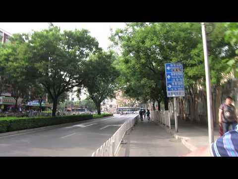 Auto rickshaw ride around Beijing on China Backroads Day 9