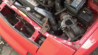 Mazda 323f для «чайников» #6 Не включается вентилятор охлаждения. Как диагностировать причину.