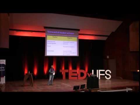 Student activism -- a call to awaken | Lis Lange | TEDxUFS