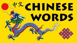 1000 Common Chinese Words with Pronunciation · N° 1