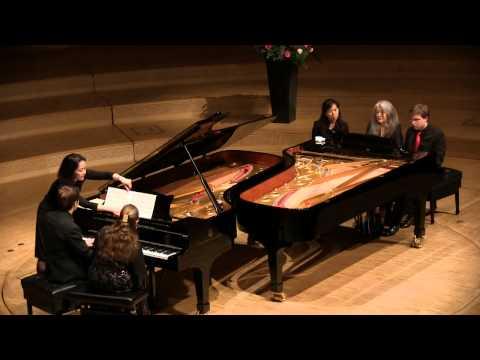 Smetana: Sonata and Rondo (Argerich, Zilberstein, D.& A. Gerzenberg)