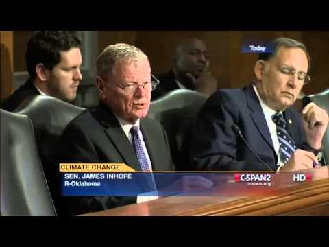 Bernie Sanders v. Jim Inhofe on Climate Change Denial (6/18/2014)