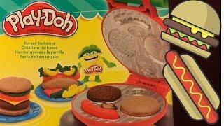 Play-Doh Burger Barbecue Hasbro Cooking Set