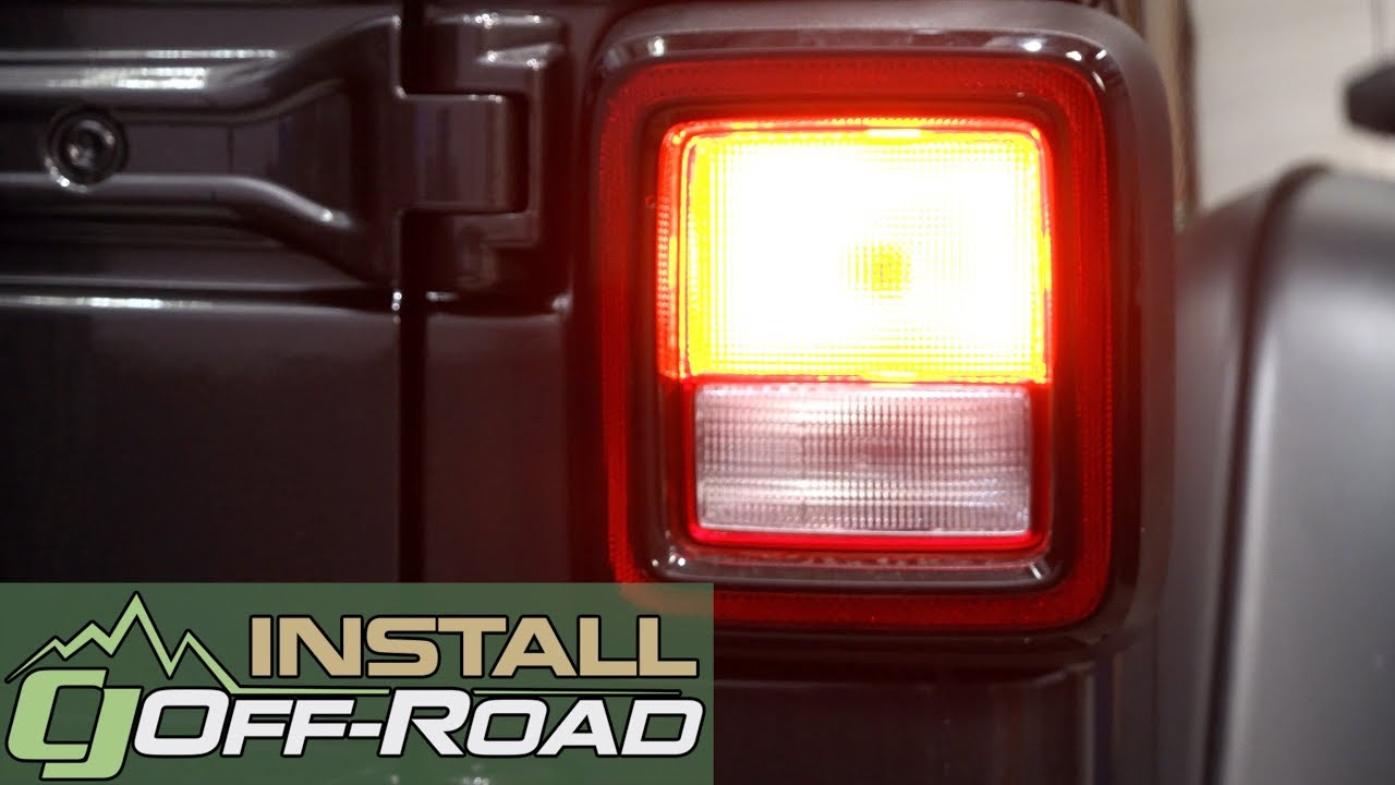 2018 2019 Jeep Wrangler Jl Taillight And Rear Turn Signal