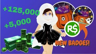 How to get 5K-125K ROBUX for FREE! NEW BADGES, NEW CANDY HUNT, NEW WINGS! //Roblox Royale High TEA