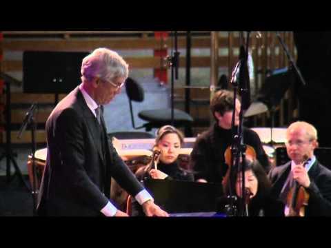 """Karlheinz Stockhausen: """"Gruppen"""" für 3 Orchester - Cresc... Biennale für Moderne Musik"""