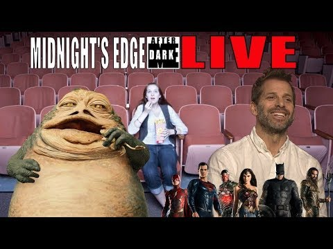 Jabba Movie, Synder Returns To JL? Movie Theater Debates | Midnight's Edge After Dark