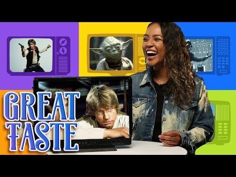 Best Star Wars Character ft.Grace Aubry   Great Taste