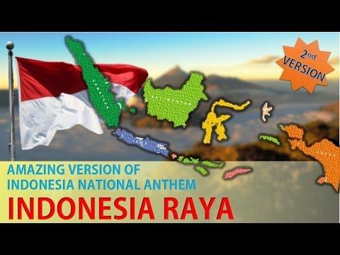 Amazing Version Of Indonesia National Anthem - Indonesia Raya Version 2