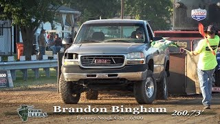 Central Illinois Truck Pullers - 2019 Four-Wheel Drive Factory Stock Gas - Truck Pulls Compilation
