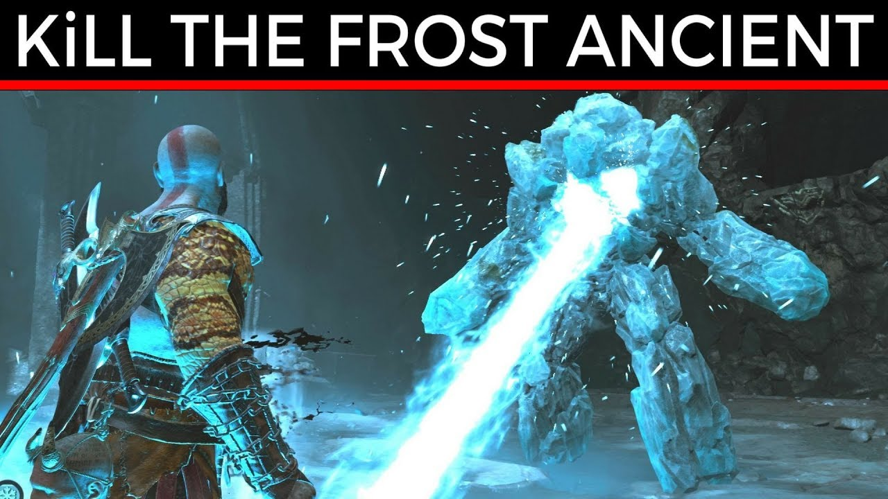 Of War How To Kill The Frost Ancient Fast Easy Way Gameplay Walkthrough Game Guide Ps4 Pro