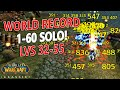 Cover image WoW Classic - 1-60 Solo World Record Recap! Level 32-55 in 34 hours!