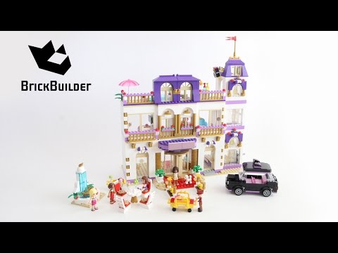 Lego Disney Friends 41101 Heartlake Grand Hotel - Lego Speed Build