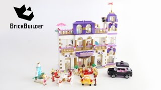Lego Disney Friends 41101 Heartlake Grand Hotel - Lego Speed Build(Lego Disney Friends 41101 Heartlake Grand Hotel Do you want to see more LEGO Speed Build videos from BrickBuilder? Subscribe this channel and see all ..., 2015-05-31T17:48:00.000Z)