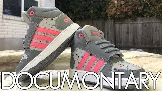 adidas Hoops Mid 2.01 Toddler Sneaker • Review & On-Feet | DOCUMONTARY