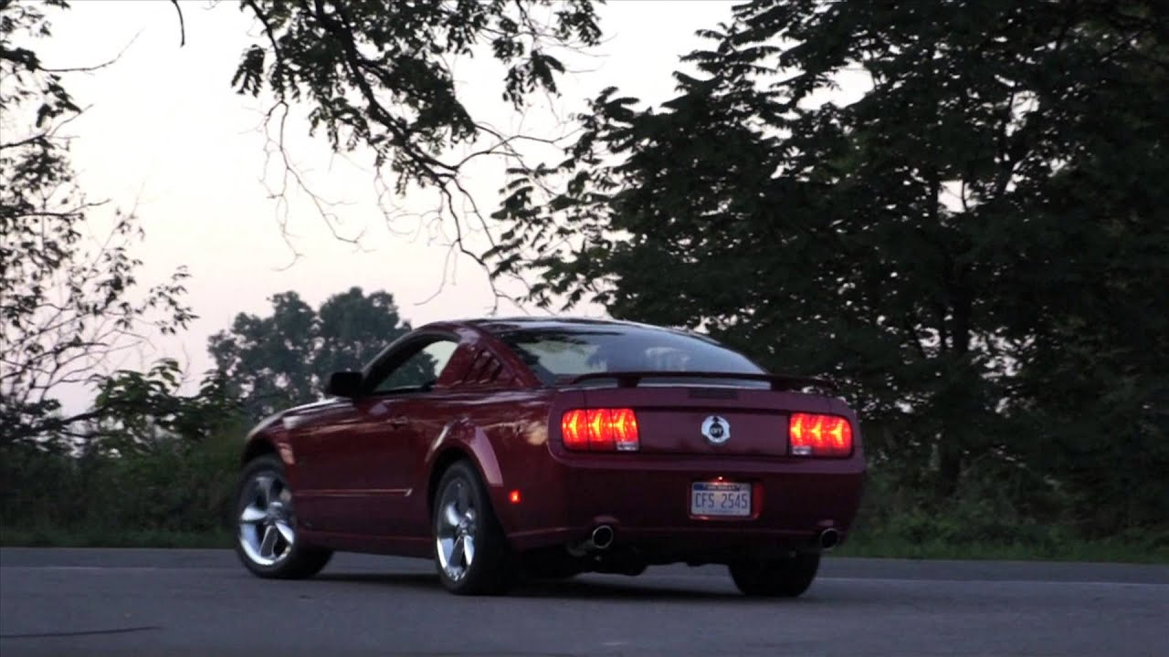 Mustang Gt Borla Exhaust Hq Sound Quality
