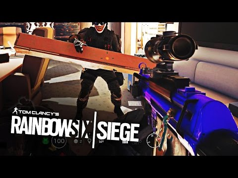 INSANE 1V4 CLUTCH + ROAD TO GOLD! - Rainbow Six Siege #20