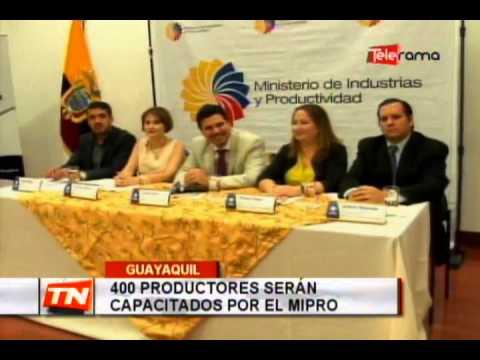 400 productores serán capacitados por el MIPRO