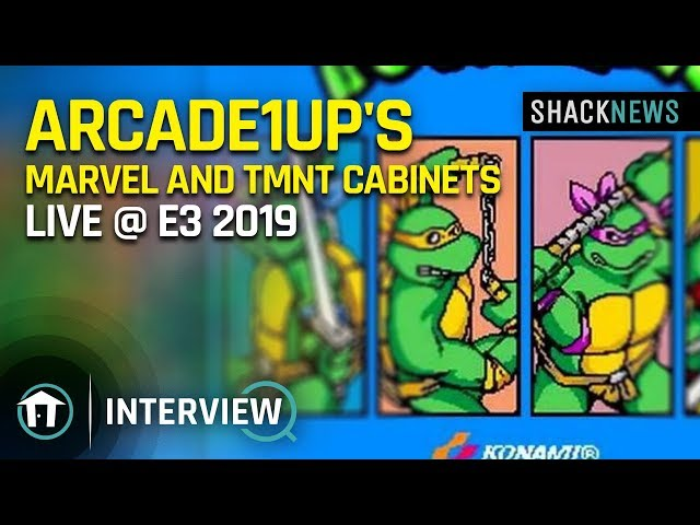 Arcade1Up details new Marvel and TMNT cabinets at E3 2019 | Shacknews