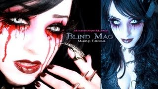 BLIND MAG Makeup Tutorial REPO! The Genetic Opera Halloween