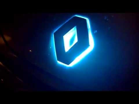 Renault Emblem Led Rgb Rf Control Rlkp Youtube