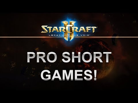 SC2 - Legacy of the Void 2017 - Valencia Short Games Compilation!