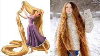Wow, 10 Wanita Ini Mirip Rapunzel di Dunia Nyata