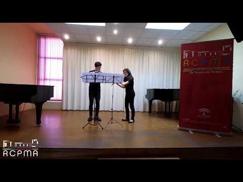 Primer Premio - DÚO DE FLAUTAS - XXII Concurso de Música de Cámara