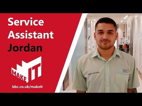 Health And Social Care Job Profile: Service Assistant