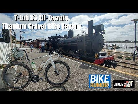 T-Lab X3 All-Terrain Titanium Gravel Bike Review - Filmed in Australia!
