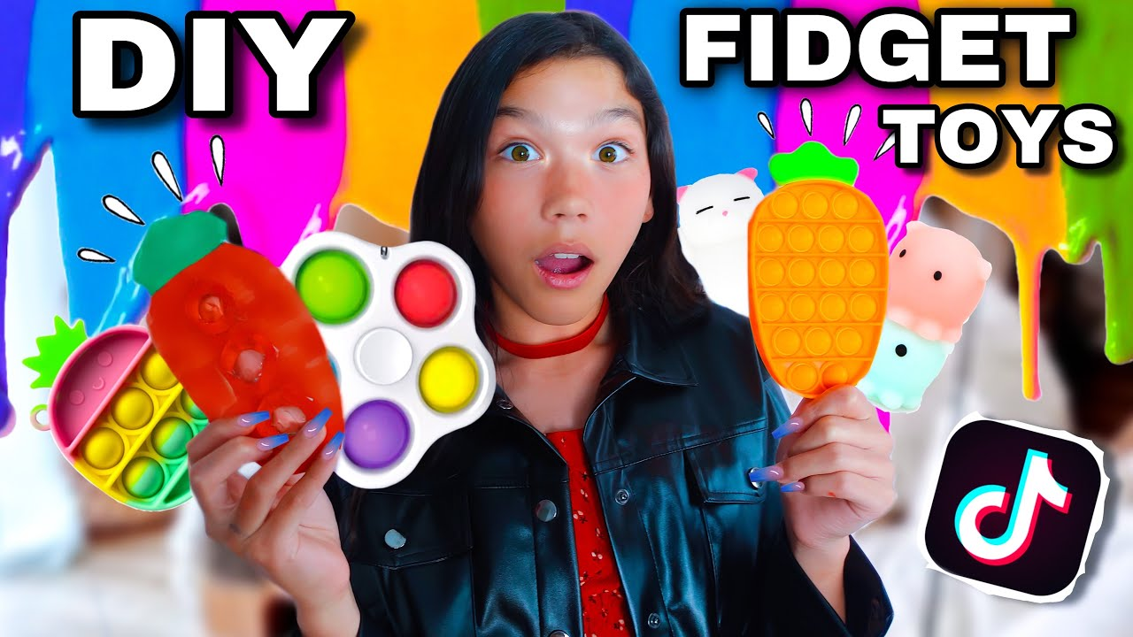 DIY Pop It Fidget Toys (How To Make Viral TikTok Fidget Toy At Home) **EASY** | Txunamy