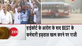 Breaking News: BEST employees call off bus strike in Mumbai