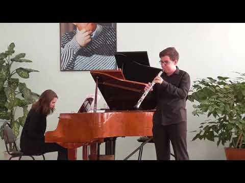 Pasculli: La Favorita.  Vivaldi: Sonata for oboe in c-moll, RV53.