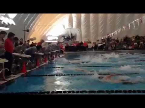 Lebanon's Maddy Kelly wins 5A state title in girls 50 freestyle