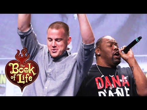 The Book of Life | Biz Markie, Channing Tatum sing 'Just a Friend' | ComicCon 2014