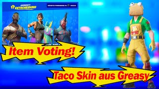 Item Voting Function!😍| Taco Skin!😱| Fortnite Shop from 12.9.19